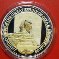 "Solomon Islands 2 Dollars 2015 Silber PP-Proof #F3036 Colored ""Sphinx von Gizeh"""