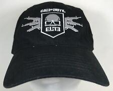 Call of Duty MW3 Elite Black Strapback Baseball Cap Hat with Skull and Gun  Logo b2cb15fdd792