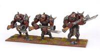 Mantic Kings of War 3x Ogre Shooters Fast&Free P&P (WHFB regiment irongut bull)
