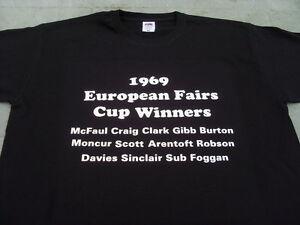 Newcastle United 1969 European Fairs Cup Winners T-Shirt 4xl 5xl Birthday Gift