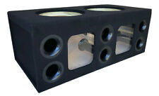 "Custom Ported Sub Enclosure Box for 2 15"" Sundown Audio ZV5 Zv.5 Subs ~BIRCH~"