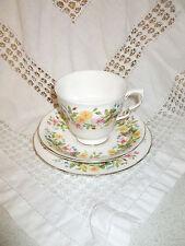 COLCLOUGH VINTAGE  HEDGEROW cup saucer & plate trio
