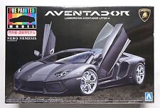 AOSHIMA Pre-painted SP 1/24 Lamborghini Aventador LP700-4 BK limited rare model