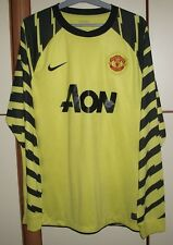 Manchester United 2010-2011 Goalkeeper football shirt jersey Nike size XL