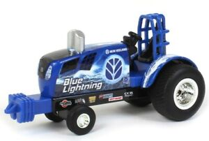 1/64 Scale  Ertl New Holland Puller Tractor The Blue Lightning  Sale  $9.89