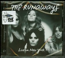 The Runaways Live In New York 1978 CD new
