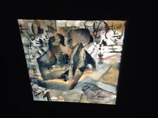 "Marcel Duchamp ""The Chess Game 1911"" Dada Art 35mm Glass Art Slide"