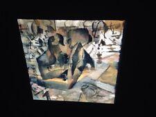 """Marcel Duchamp """"The Chess Game 1911"""" Dada Art 35mm Glass Art Slide"""