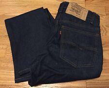 Vintage Levi's 519 Small e No Redline Dark Indigo Denim Jean. 29x30  Unworn