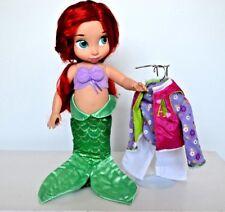 DISNEY Store Principessa Sirenetta Ariel Animator doll, con vestito extra!