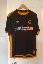 Wolverhampton Wanderers Away Football Shirt Large Mens 2010 12 Burrda  Jersey Kit ac9b254ec