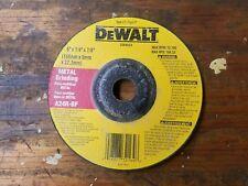 """DEWALT  6"""" x 1/4"""" x 7/8"""" METAL GRINDING WHEELS A24R-BF ONE EACH"""