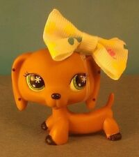 Littlest Pet Shop Monopoly Dachshund With Bow