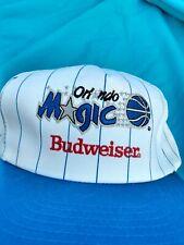 Vintage Orlando Magic Budweiser Hat cap baseball trucker snapback style NBA 90s