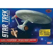 Polar Lights 1/1000 Star Trek TOS USS Enterprise Space Seed w/ Botany Bay Model