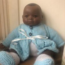 Grace S. Putman German Bisque baby doll antique vintage noir peau noire africaine