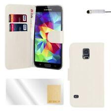 Étuis, housses et coques blanche simple Samsung Galaxy S5 pour téléphone mobile et assistant personnel (PDA)