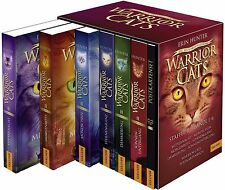 Warrior Cats Staffel 2 Band 1-6 Taschenbuch Schuber mit Postkartenset +FAN-PAKET