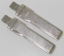 2x Uncut HAA Switchblade Flip Key Blade Blank For Audi Keyless Entry Remote