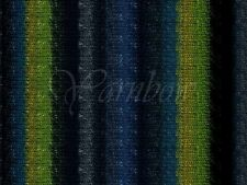 Noro ::Silk Garden Sock #252:: silk mohair yarn Black-Grey-Teal-Green-Navy