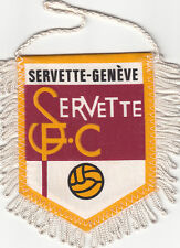 Servette Football Club 1890 Genève Suisse SFC FOOTBALL FANION WIMPEL PENNANT 80s