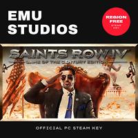 Saints Row IV: Game of the Century Edition (PC) Steam Key Region Free