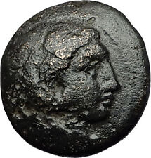ALEXANDER III the GREAT 332BC Hercules Club Amphipolis Ancient Greek Coin i58420
