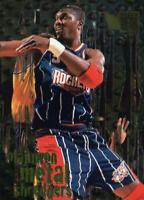 1996-97 FLEER METAL SHREDDERS Hakeem Olajuwon Basketball Card #142 MINT PERFECT