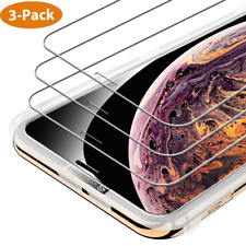 Syncwire iPhone XS Max Tempered Glass Screen Protector - [3-Pack, 6.5 inch] 2.5D