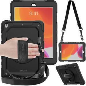 """Techgear Utility Case Heavy Duty Hand & Shoulder Strap for Apple iPad 10.2"""""""