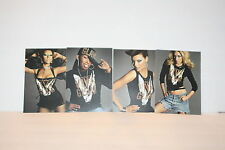 Wow~ Mac Cosmetics Viva Glam lot 4 Post Cards Mac Aids Fund