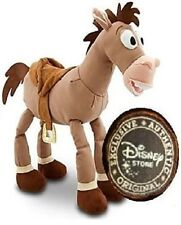 "Toy Story Disney Store Soft Plush Stuffed Bullseye 17"" Woody Jessie Horse"