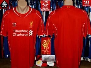 Liverpool Fc (The Reds) Warrior 2014/2015 Home Jersey Shirt Trikot Maillot