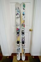 LINE SHADOW SKIS SIZE 167 CM WITH ROSSIGNOL BINDINGS