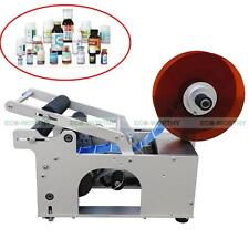 220V MT-50 Semi-Automatic Round Bottle Labeling Machine Labeler Machine Printing