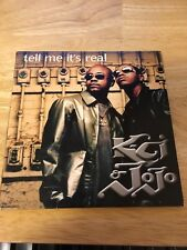 K-CI & JoJo Tell Me It's Real Single with Dave Hall Remix - Excellent Condition