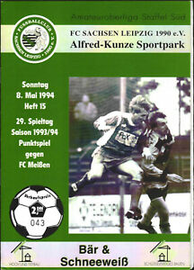 OL 93/94 FC Sachsen Leipzig - FC Meißen, 08.05.1994