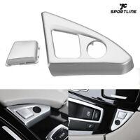 Innen Auto Knopf Abdeckung Schalter Trim Passend für BMW 5er F10 520i 525i 11-16