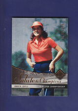 Nancy Lopez 2004 UD Golf SP Authentic #74 Salute to Champions #0346/1978
