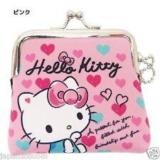 HELLO KITTY PORTE MONNAIE  COIN PURSE POUCH SANRIO PINK  JAPAN RARE LIMITED