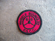 vintage 1966 PSCC Wheele Bounce XII Sports Car Club racing rally patch