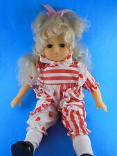 "LISSI Puppe DOLL 16"" blonde Blue Eyes 96465 Neustadt Beautiful Vinyl & cloth"