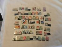Lot of 55 West Germany Stamps, 1960-1970s Workers, Leaders, Buildings, More