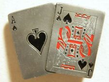 Buckles of America Masterpiece Collection Black Jack BA  422 Gambling Cards