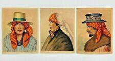 J. Luis Guerra - 3 Guatemalan Watercolor Paintings