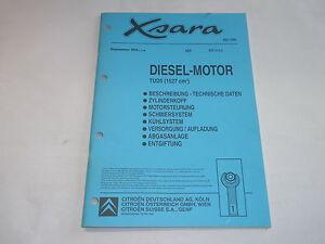 Manual de Taller Citroën Xsara Diesel-Motor TUD5 / 1527CM ³ Salida 05/1998