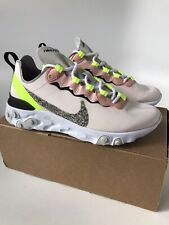 Womens Nike React Element Trainer Sneaker (Size 6) Soft Pink