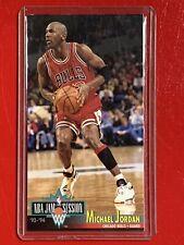 MICHAEL JORDAN 1993 94 NBA JAM SESSION #33 OVERSIZED CARD Rare CHICAGO BULLS