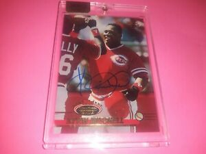 Kevin Mitchell Auto 2016 Topps Archives #'d 1/3 Cincinnati Reds