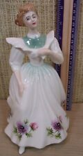 """Royal Doulton Figure Of The Month """"March"""" 8"""" Figurine Anemones Flower England"""